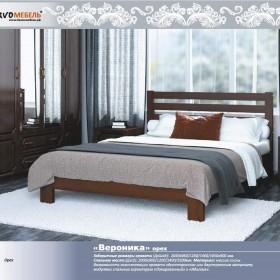"""Кровать из массива """"Вероника"""" Орех"""