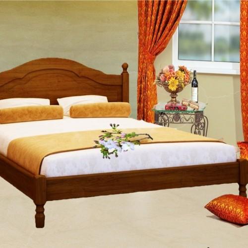 Кровать из массива сосны Агата