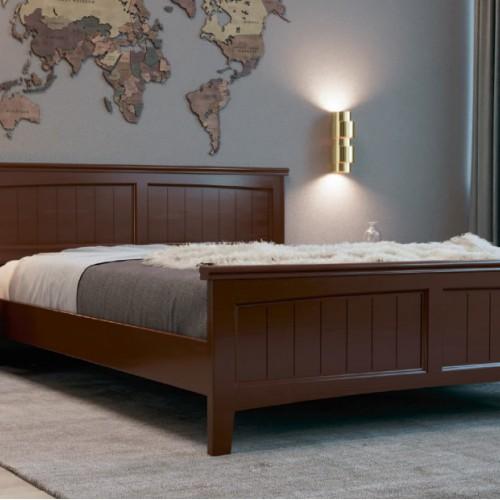 """Кровать из массива """"Грация-4"""" Орех"""