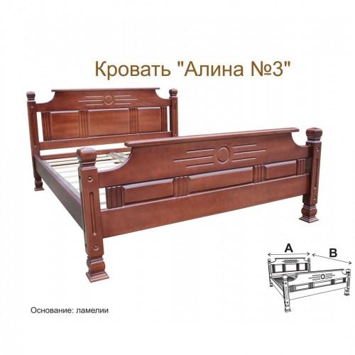 Кровать №3 (бук)