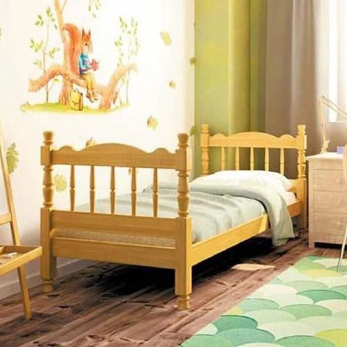 """Кровать детская из массива """"Аленка"""" сосна"""