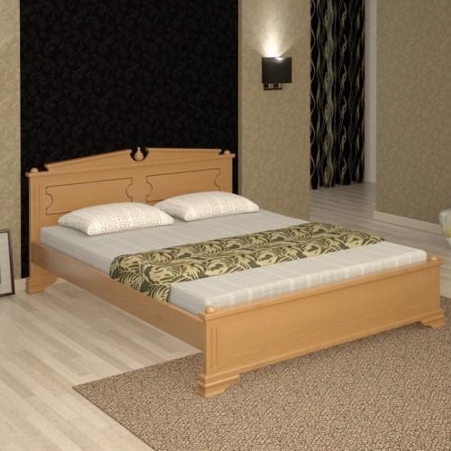 Кровать из массива сосны Аделия