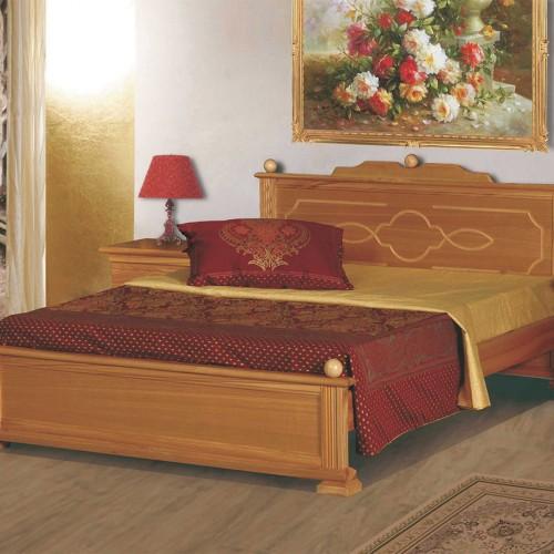 Кровать из массива сосны Афродита