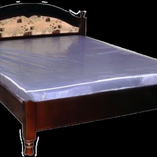 Кровать из массива сосны Агата мягкая вставка