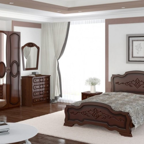 ИДИЛЛИЯ(ЛАК) зеркало настенное спальный гарнитур